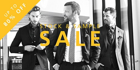 STOCK & SAMPLE SALE The Society Shop in Uithoorn tickets