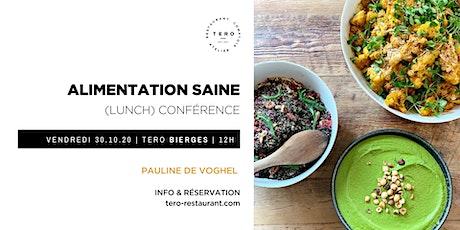 Conférence / ALIMENTATION SAINE tickets