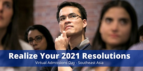 Virtual Admissions Day - Southeast Asia tickets