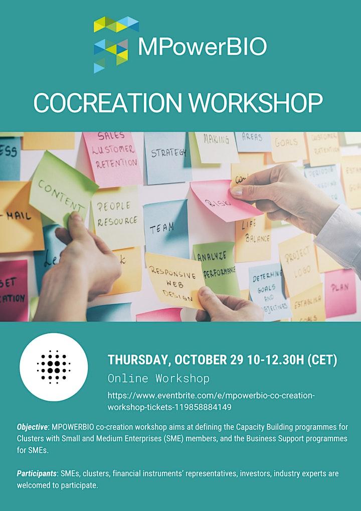 MPOWERBIO Co-creation workshop image
