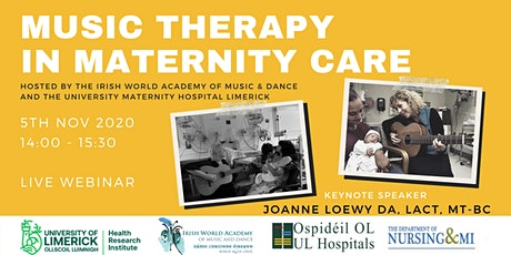 Music Therapy in Maternity Care by Dr. Joanne Loewy tickets