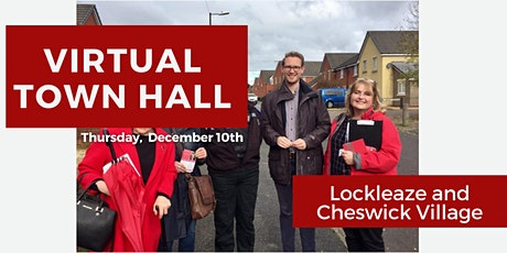 Virtual Town Hall:  Lockleaze and Cheswick Village tickets