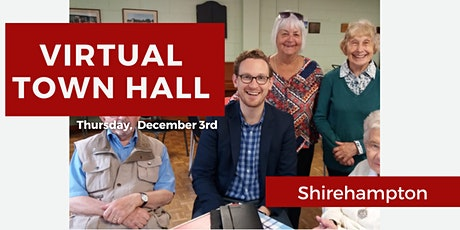Virtual Town Hall: Shirehampton tickets