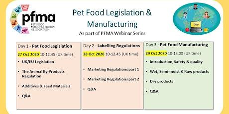 PFMA Legislation, Labelling & Manufacturing Webinars (3 Half-days) tickets