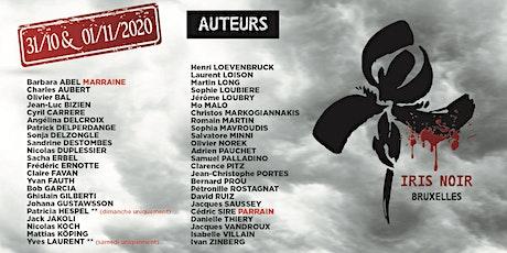 Le Salon de l'Iris Noir Bruxelles 2020 (thrillers, policiers, romans noirs) tickets