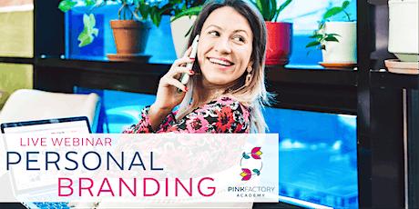 Personal Branding | Live Webinar biglietti