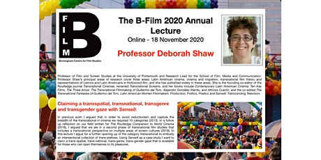 B-Film 2020 Annual Lecture with Professor Deborah Shaw tickets