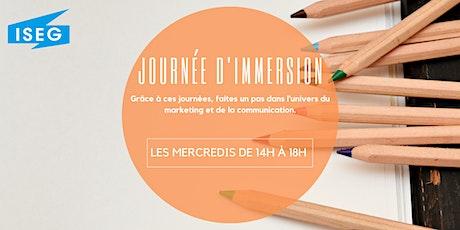 Journée d'Immersion ISEG Paris billets
