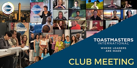 Toastmasters Two Towers  Club Meeting biglietti