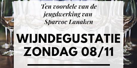 Wijndegustatie ten voordele van de Jeugdwerking van sparvoc Lanaken tickets