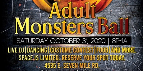 Halloween: Krush Events Monsters Ball tickets