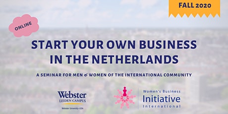 Start Your Own Business in the Netherlands tickets