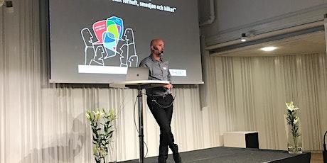 Nätverksträff med Olof Larsson och Maria Berg på IT-huset ingressos