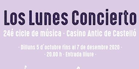 Los Lunes Concierto al Casino Antic- JuanCortés Trio entradas