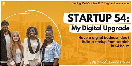 Startup 54: My Digital Upgrade - Build a Startup from Scratch in 54 Hours tickets