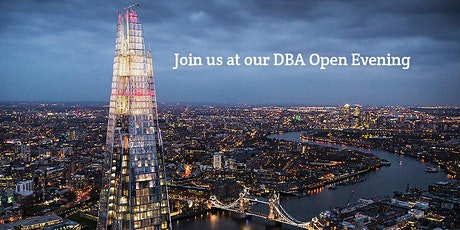 DBA Taster Open Session Intake 2021 - The Shard tickets