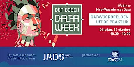 MeerWAARDE met data – Data voorbeelden uit de praktijk tickets