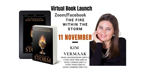 The Fire Within The Storm Book Launch - Kim Vermaak tickets