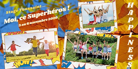 Stage de la Toussaint : La semaine des Superhéros !!! billets