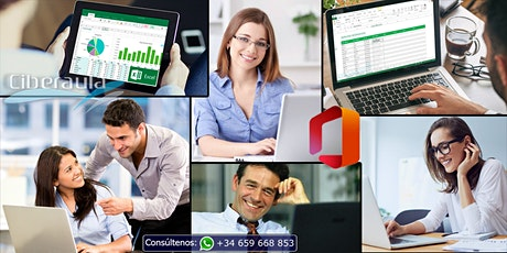 Curso online de Microsoft Office 365 Básico - Intermedio boletos