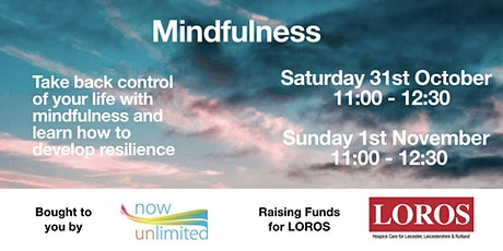 Me, Myself & I - Becoming Resilient by Using Tools of Mindfulness tickets