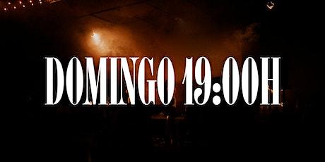 DOMINGO 19:00H entradas