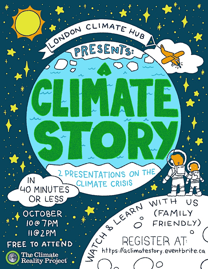 A Climate Story ... in 40 Minutes or Less! image