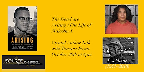 The Dead Are  Arising: The Life of Malcolm X Author Talk tickets