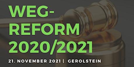 Seminar zum Wohnungseigentumsgesetz: die WEG-Reform 2020 Tickets