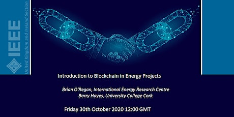 Introduction to Blockchain in Energy Projects tickets