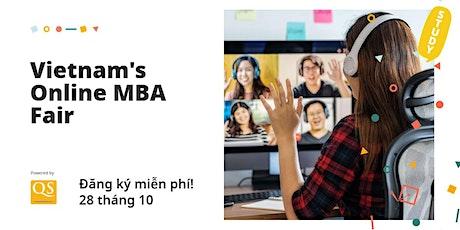 QS Triển lãm MBA toàn cầu Virtual World MBA Tour Vietnam tickets