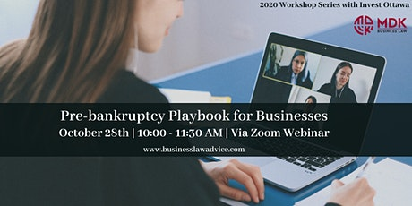 Pre-bankruptcy Playbook for Businesses (UPDATED)