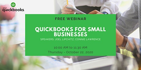 QuickBooks for Small Businesses (Webinar / Workshop) tickets