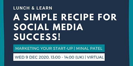 Lunch & Learn: A simple recipe for social media success! tickets