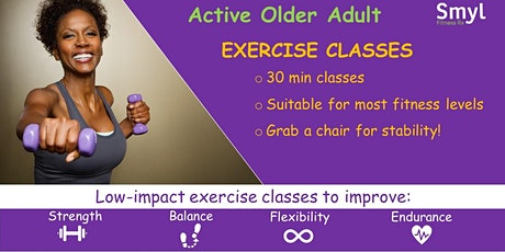 Active Aging Exercise Class tickets