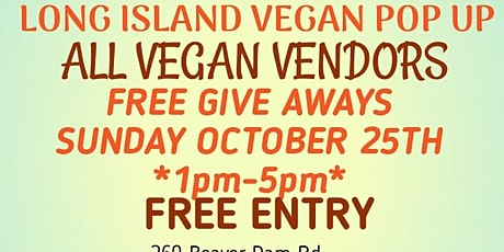 LONG ISLAND VEGAN POP UP tickets