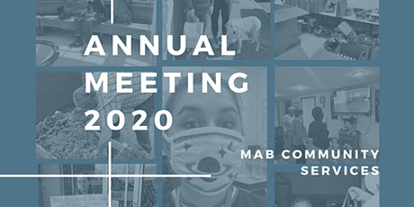 MAB Community Services' Annual Meeting tickets