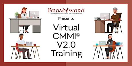 CMMI® V2.0 Training - Foundations + DEV - Virtual tickets