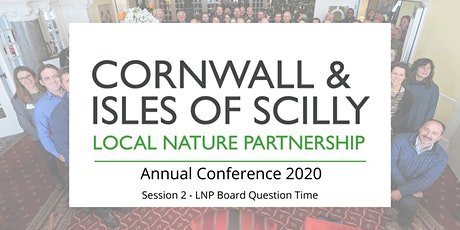 CIOS Local Nature Partnership Conference 2020 - Part 2: Question Time tickets