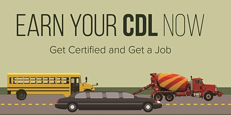 Transportation and CDL Career Information Session tickets