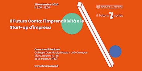 ll Futuro Conta: l'imprenditività e le Start-up d'impresa biglietti