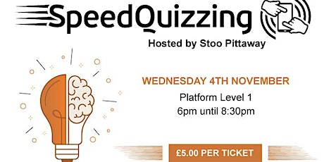 Millennium Point Presents... Socially Distanced Speedquizzing tickets