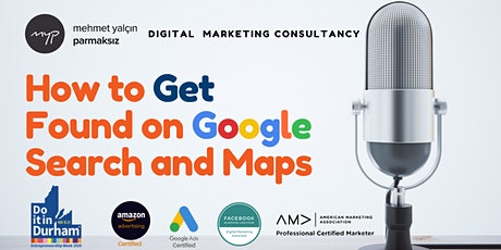 How to Get Found on Google Search and Maps tickets
