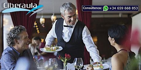 CURSO DE INGLES PARA CAMAREROS tickets