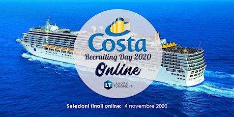 Costa Recruiting Day - Online biglietti