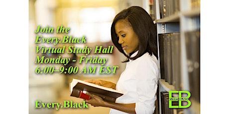 Every.Black Virtual Study Hall tickets
