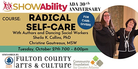 SHOWAbility : Radical Self-Care (For Caregivers) tickets