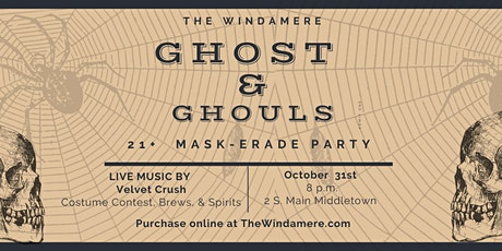 Ghost & Ghouls Mask-erade Ball tickets