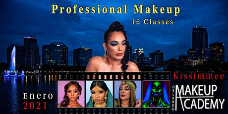 PROFESSIONAL MAKEUP (16 clases ) tickets