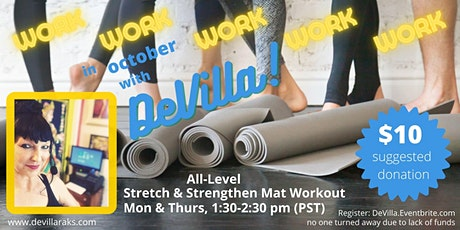 All Level Stretch & Strength Mat Workouts tickets